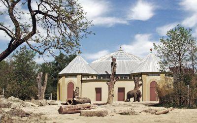 Visualisierung Kuppel Elefantenhaus Hellabrunn