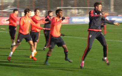 Training des FC Bayern München