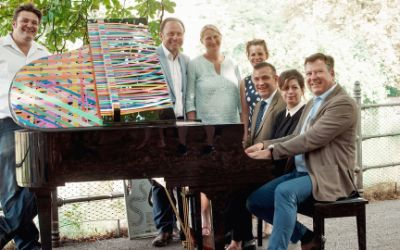 Pressekonferenz zu Play Me I'm Yours mit Bürgermeister Josef Schmid