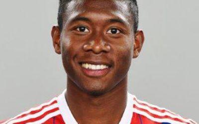 David Alaba vom FC Bayern München.