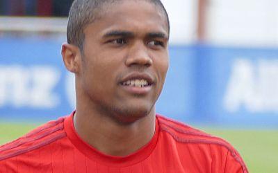 Douglas Costa im Training beim FC Bayern