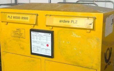 Ein Briefkasten in München