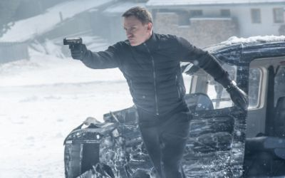 Szene mit Daniel Craig in Spectre