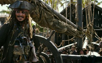"Szene aus dem Film ""Pirates of the Caribbean: Salazars Rache""."