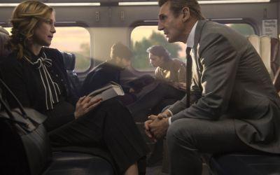 "Szene aus dem Film ""The Commuter"""