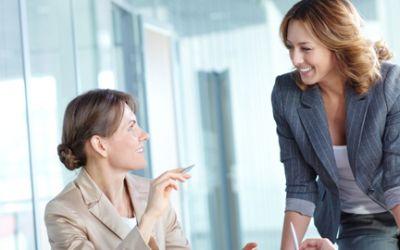 Gruppe mit Businessfrauen