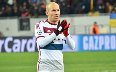 Arjen Robben vom FC Bayern München