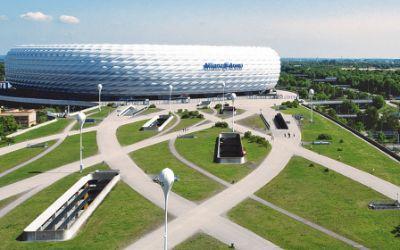 Allianz Arena mit Esplanade
