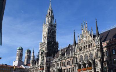 Das Neue Rathaus am Marienplatz