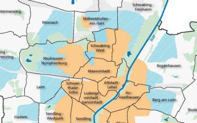 Karte mit Überblick über den Glasfaser-Netzausbau