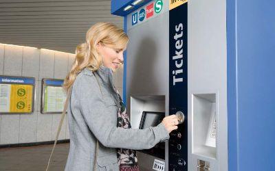 MVG-Fahrkartenautomat