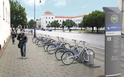 Simulation der MVG Rad-Station Universität
