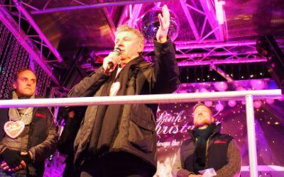 Oberbürgermeister Dieter Reiter eröffnet den Weihnachtsmarkt Pink Christmas 2015
