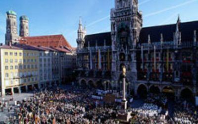 Marienplatz Fronleichnam