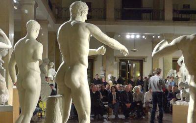 Besucher bei der Langen Nacht der Museen in München 2016