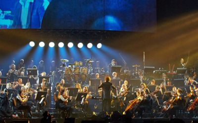 Orchester auf der Night of the Proms