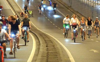 Impressionen von der Münchner Radlnacht 2016