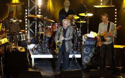 Klaus Doldinger mit Band