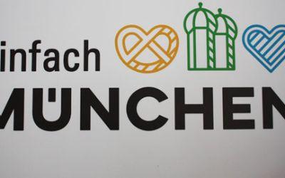 Vorstellung des neuen Erscheinungsbilds für Münchens Tourismus