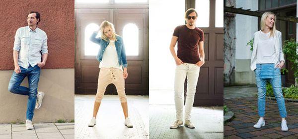Verschiedene Styles von Jeans Kaltenbach