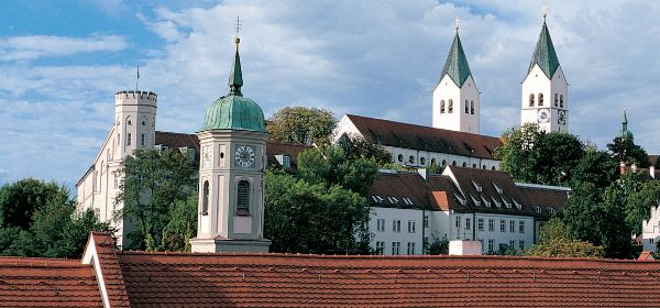 Freisinger Dom mit der Heilig-Geist-Kirche