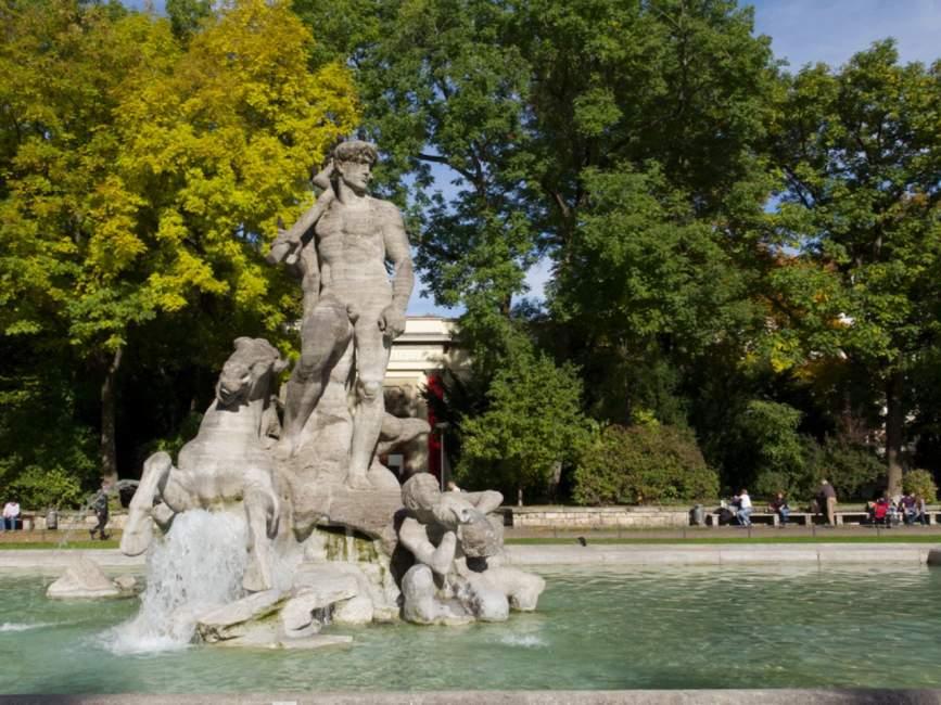 Alter Botanischer Garten In München ? Offizielles Stadtportal ... Haus Und Garten Innovationen Garten Sehenswert
