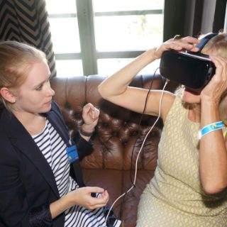 Präsentation VR App im Filmcasino