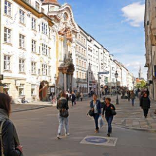 Die Sendlinger Straße in Münchens Innenstadt