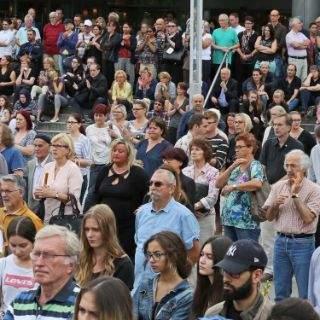Gedenkfeier für Opfer des Amoklaufs am OEZ
