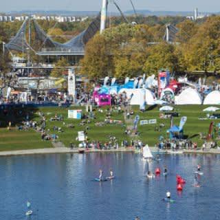 Outdoorsportfestival im Olympiapark