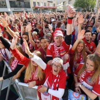 FC Bayern Meisterfeier 2017