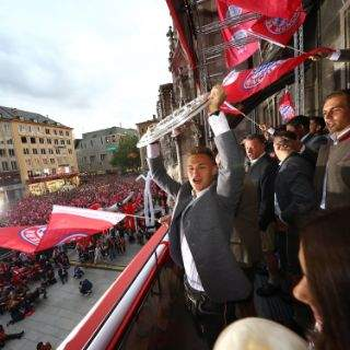 Feierort für den FC Bayern