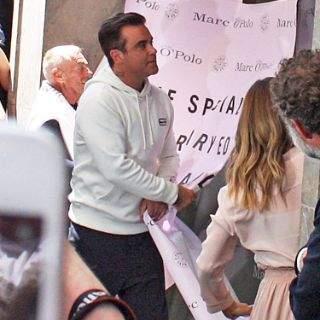 Robbie Williams präsentiert seine Kollektion in München