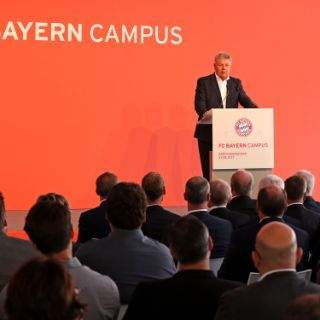 Eröffnung des FC Bayern Campus an der Ingolstädter Straße