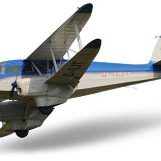 Historische Flugzeuge: Dragon Rapide