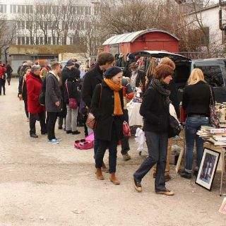 Bilder vom Flohmarkt am Ostbahnhof in München
