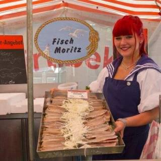 Fisch Moritz - ein echter Familienbetrieb bringt uns den frisch gefangenen holländischen Matjes gen Süden.