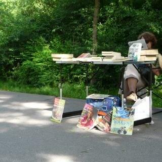 Bilder vom Lisar Bücherflohmarkt