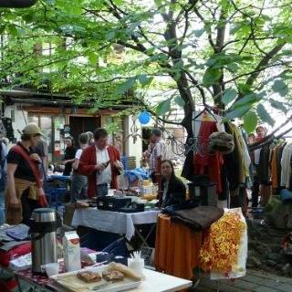 Impressionen von den Haidhausener Hof-Flohmärkten