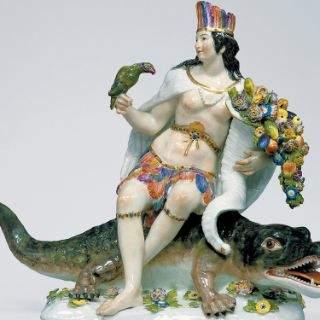 Meißener Porzellan-Sammlung im Schloss Lustheim