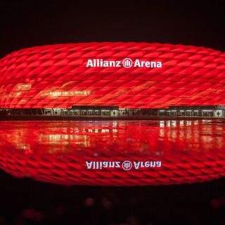 Eindrücke von der Allianz Arena