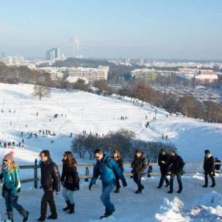 Winter im Olympiapark