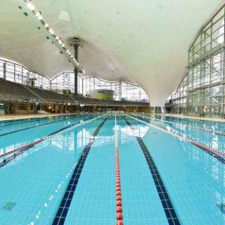 Bilder von der Olympia Schwimmhalle