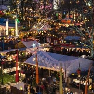 Impressionen vom Schwabinger Weihnachtsmarkt