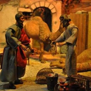 Weihnachtskrippe in der Ludwigskirche