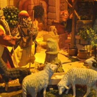 Weihnachtskrippe in der Theatinerkirche (St. Kajetan)