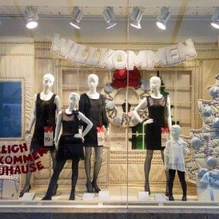 Weihnachtliche Schaufenster