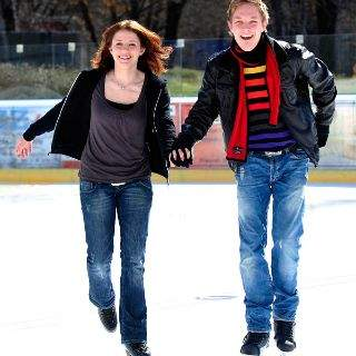 Eislaufen im Prinzregentenstadion