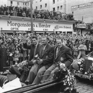 München und die Fußball-WMs 1954 und 1974