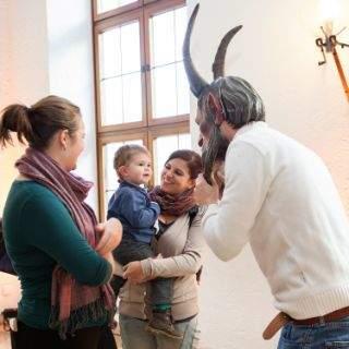 Einführung in den Krampus-Brauch für Kinder